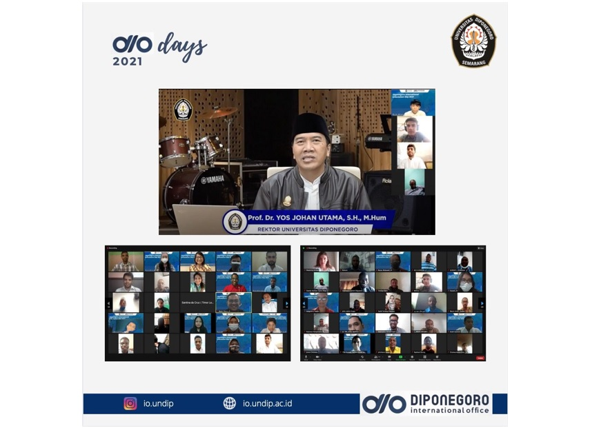 Dio Day 2021: Admission Of International Students At Universitas Diponegoro